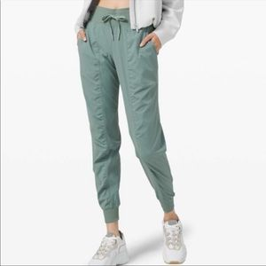 ISO lululemon green studio pants